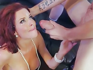 Video posnetki iz: xhamster | Veronica Avluv gets huge facial blast from monster cock