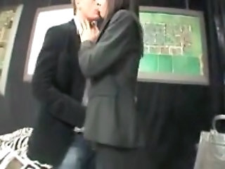 Asian Japanese Kissing Panty Asian Pantyhose Public