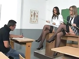 Amazing Glasses Legs Milf Ass Milf Stockings School Teacher
