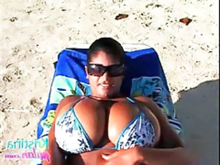 Videos from: tubewolf | Kristina milan has huge natural tits in bikini tubes