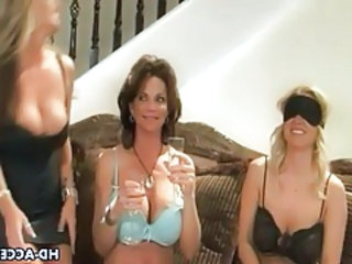 Sexy party turns into lesbian orgy with milfs tubes