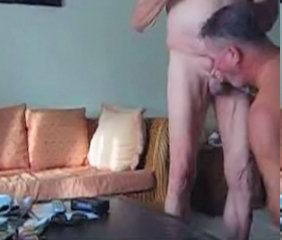 Daddies sucking cock