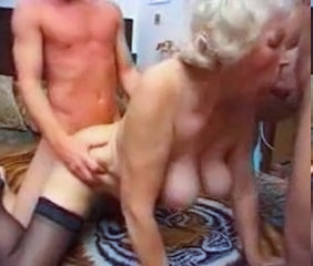 Blowjob Doggystyle Granny Granny Stockings Stockings