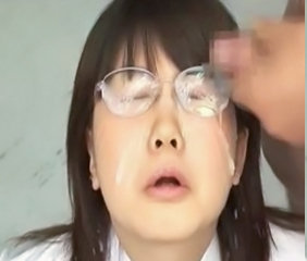 Those Crazy Japanese - Girls In Glasses Bukkake 1