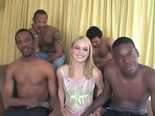 Gangbang Interracial Pornstar Blonde Teen Cute Blonde Cute Teen