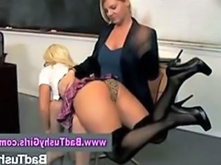 Spanking School Student Punish School Teacher Teacher Student