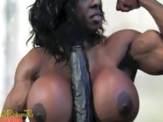 Muscled Ebony Silicone Tits Big Tits Ebony Big Tits Mature Mature Big Tits
