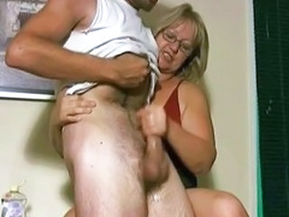 Glasses Handjob Mature Glasses Mature Handjob Mature Jerk