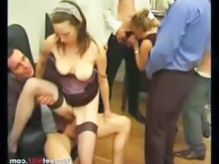 Groupsex Stockings Clothed Clothed Fuck Group Mature Mature Stockings