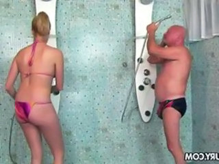 Bikini Showers Old and Young Bikini Bikini Teen Old And Young