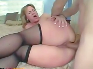 Ass Close up Stockings Anal Mom Milf Anal Milf Ass