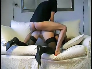 Hot german MILF fucked in her ass