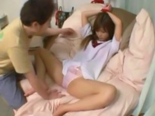 "Schoolgirl With Tied Arms Getting Her Pussy Stimulated With Vibrator O..."" target=""_blank"
