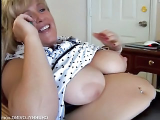 Mature BBW loves to talk dirty on the phone and