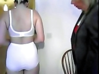 "Domme Spanks Young Lady"" target=""_blank"