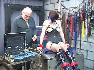 Bdsm Fetish Slave Bdsm Cute Brunette Torture