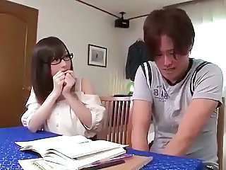 Glasses Teen Student Asian Teen Glasses Teen Japanese Teacher