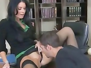 Licking  Office Milf Office Milf Stockings Office Milf