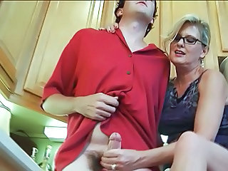 Mature Handjob Glasses Glasses Mature Handjob Mature Mature Ass