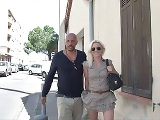 French beautiful milf blonde french Dp amateur fucking