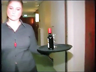 Chubby Dutch Hotel Maid