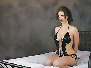 hot slave in bondage