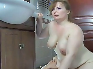 Mature Russian Riding Chubby Mature Mature Chubby Riding Busty