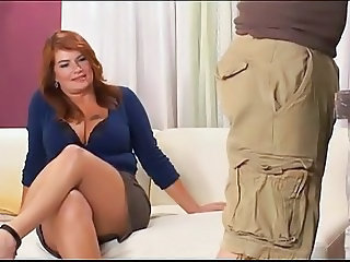 Anal MILF - Plump Mature Lady Fucks Repair Guy