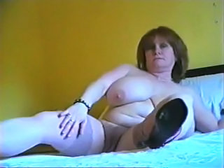 Mature Shows Off Huge Titties and More (Camaster)