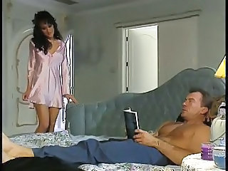 Hot threesome with Asia Carrera in action with a horny couple