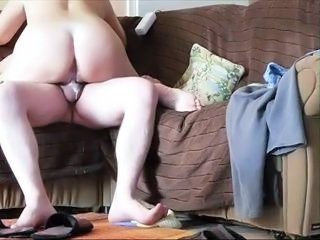 Hot amateur ride And cream pie