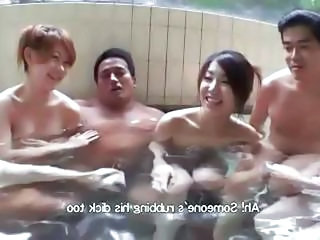 Group Sex At A Hot Springs Resort With P...