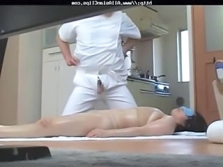 Horny Japanese Wives Massaged And Then Fucked At Home 3 - Cm asian cumshots...