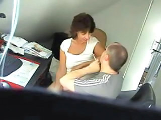 HiddenCam Mature Office Boss Caught Hidden Mature