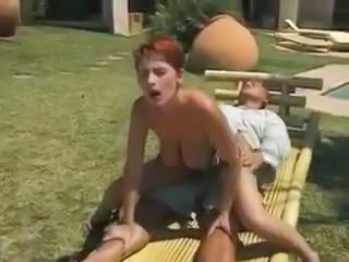Videos from: tubewolf | Short hair redhead takes dick in her shaved box
