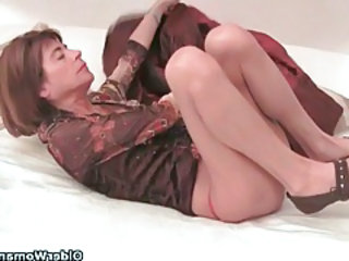 Videos from: tubewolf | Very skinny granny stretching her tight pussy almost a dildo tubes