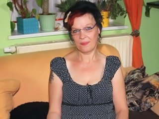 European German Glasses German Mature Glasses Mature Housewife
