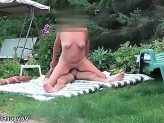 A great fun in the park voyeur cam  part2