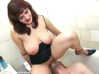 Facesitting Russian Licking Bathroom Tits Big Tits Milf Milf Big Tits