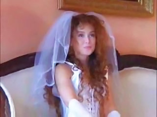 Bride MILF Uniform Wedding Short Hair