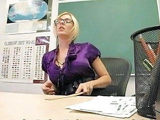 School Glasses MILF Classroom Milf Ass School Teacher