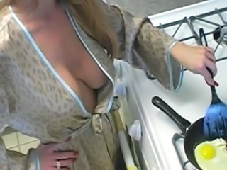 Kitchen Natural Mature Housewife Kitchen Housewife Kitchen Mature