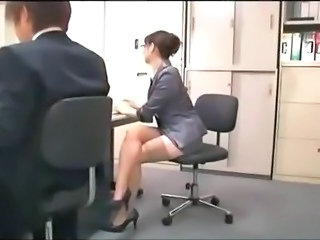 Secretary Glasses Legs Hairy Milf Milf Asian Milf Ass