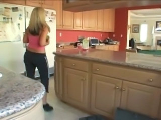 Wife  Kitchen Wife Milf