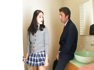 Teacher Skirt Teen Cute Teen Old And Young School Teacher