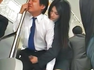Handjob Japanese Asian Bus + Asian Bus + Public Forced