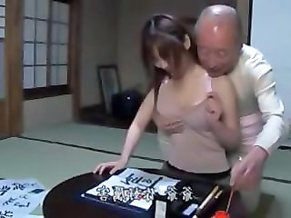 Daughter Daddy Old and Young Asian Teen Dad Teen Daddy