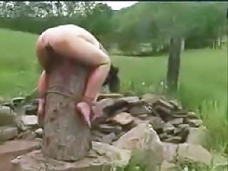 Extreme Outdoor Bondage Outdoor Ejaculation