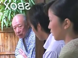 Old and Young Asian Japanese Old And Young