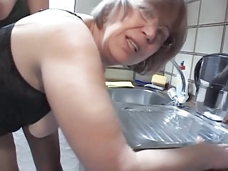 Glasses Kitchen Mature Daughter Daughter Ass Daughter Mom